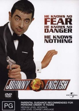 Johnny English - DVD cover