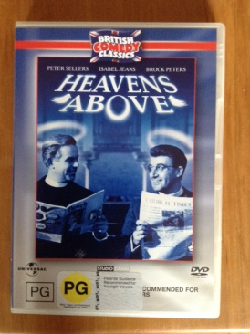 Heavens Above - DVD cover