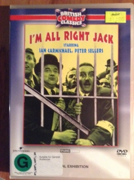 I'm Alright Jack - DVD cover