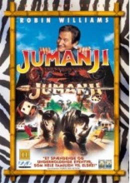 Jumanji - VHS cover