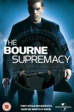 The Bourne Supremacy - DVD cover