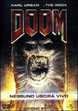 Doom - DVD cover