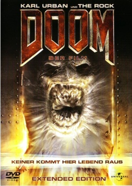 Doom - Laser Disc cover