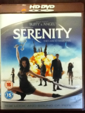 Serenity - HD DVD cover