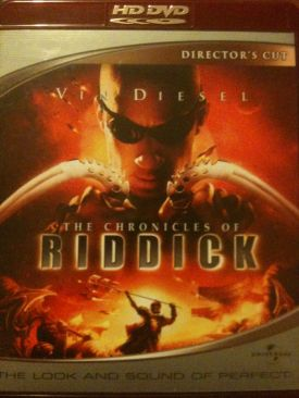 The Chronicles of Riddick - HD DVD cover
