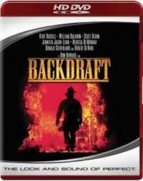 Backdraft - HD DVD cover