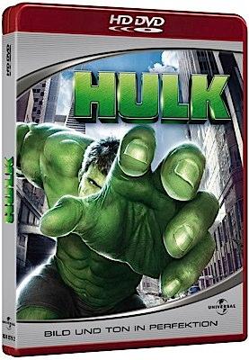 Hulk - HD DVD cover