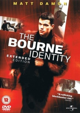 Bourne 1 - The Bourne Identity - DVD cover