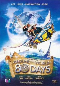 Around the World in 80 Days - DVD cover