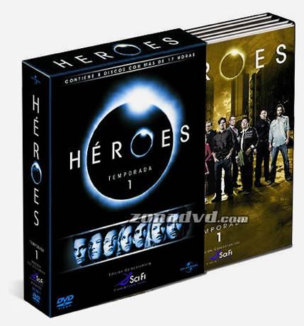 Heroes. Temporada 1 -  cover