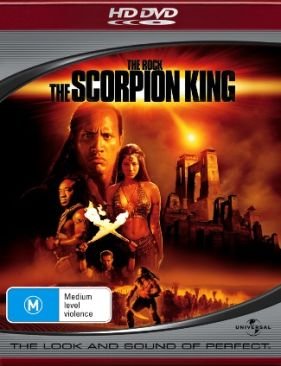 The Scorpion King - HD DVD cover