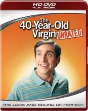 The 40-Year-Old Virgin - HD DVD cover