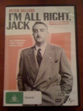 I'm All Right Jack - DVD cover