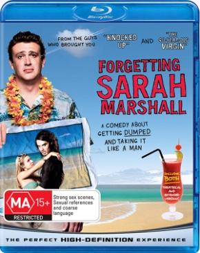 Forgetting Sarah Marshall - Blu-ray cover