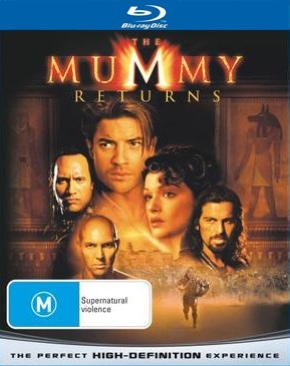 The Mummy Returns - Blu-ray cover
