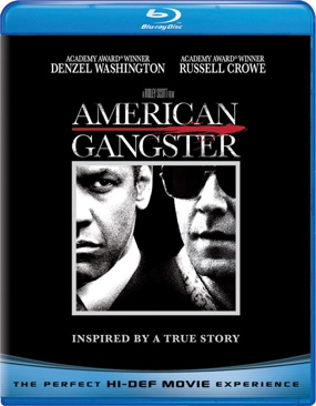 American Gangster - Blu-ray cover