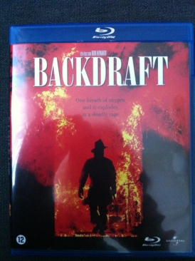 Backdraft - Blu-ray cover