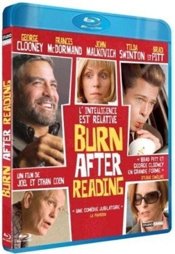 Burn After Reading - Blu-ray cover