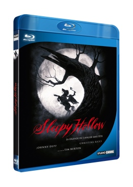 Sleepy Hollow - Blu-ray cover