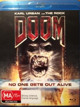 Doom - Blu-ray cover