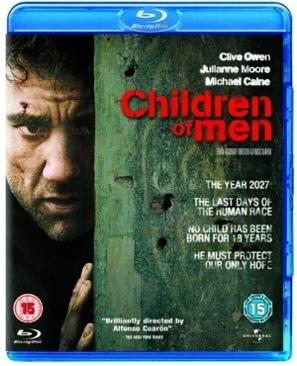 Children of Men - Blu-ray cover