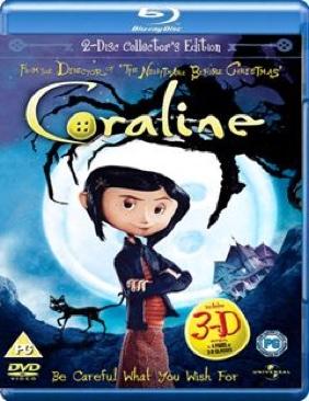 Coraline - Blu-ray cover