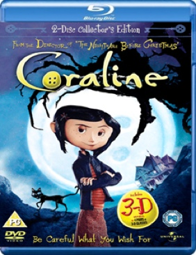 Coraline - Blu-ray cover