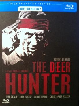 The Deer Hunter - Blu-ray cover