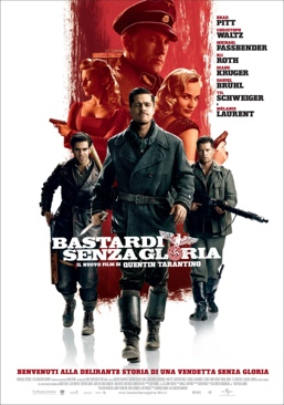 Inglourious Basterds - Blu-ray cover