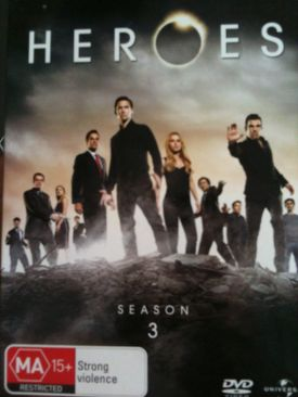Heroes (Season 3) - Laser Disc cover