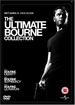 The Bourne Trilogy - DVD cover