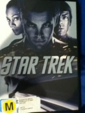 Star Trek - DVD cover