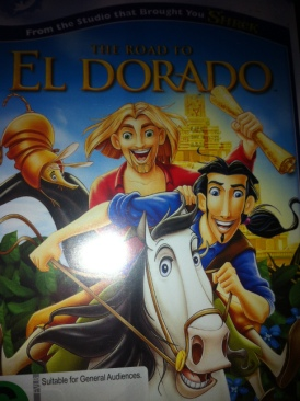 The Road to El Dorado - DVD cover