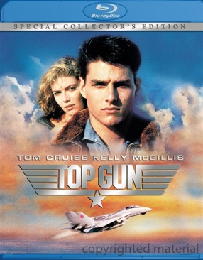 Top Gun - Blu-ray cover
