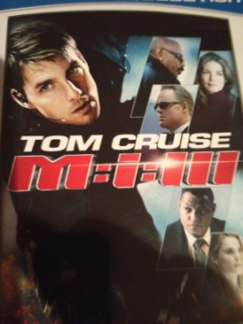 Mission Impossible 3 - DVD cover