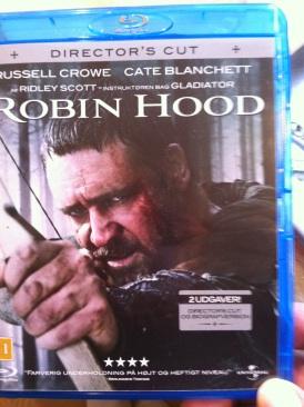 Robin Hood - Blu-ray cover