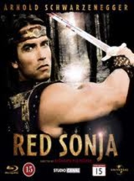 Red Sonja - HD DVD cover