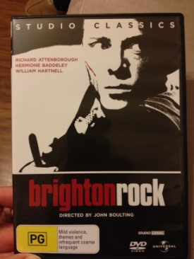 1          Brighton Rock - DVD cover