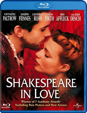 Shakespeare in Love - Blu-ray cover