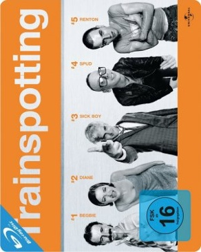 Trainspotting - Blu-ray cover