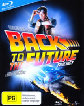 Back to the Future Trilogy - Blu-ray cover