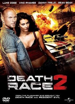 Death Race 2 - HD DVD cover