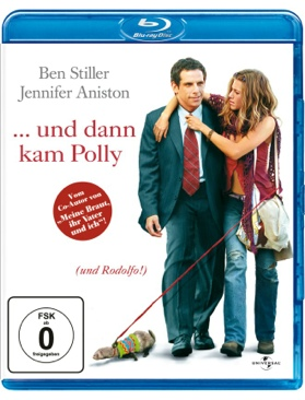UND DANN KAM POLLY - Blu-ray cover