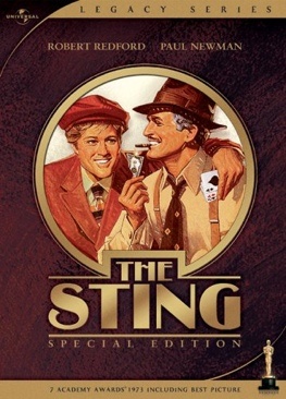 The Sting - DVD cover