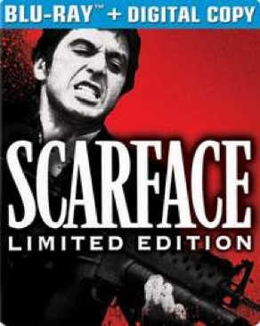Scarface - Blu-ray cover