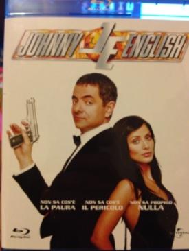 Johnny English - Blu-ray cover