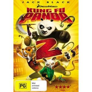 Kung Fu Panda 2 - CED cover