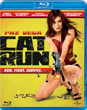 Cat Run - Blu-ray cover