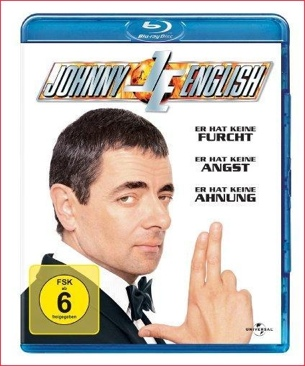Johnny English - Blu-ray cover