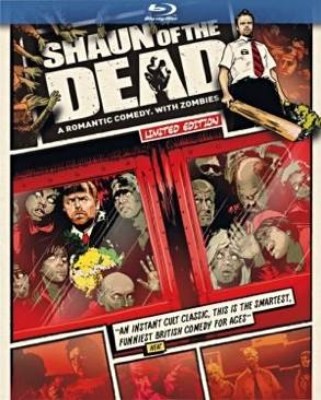Shaun Of The Dead - Blu-ray cover